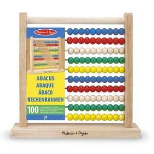 🌻5/$30🌻Melissa & Doug Wooden Abacus for Kids